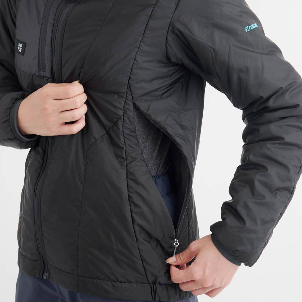 finetrack(ファイントラック)/ポリゴン2ULジャケット/ブラック/WOMENS