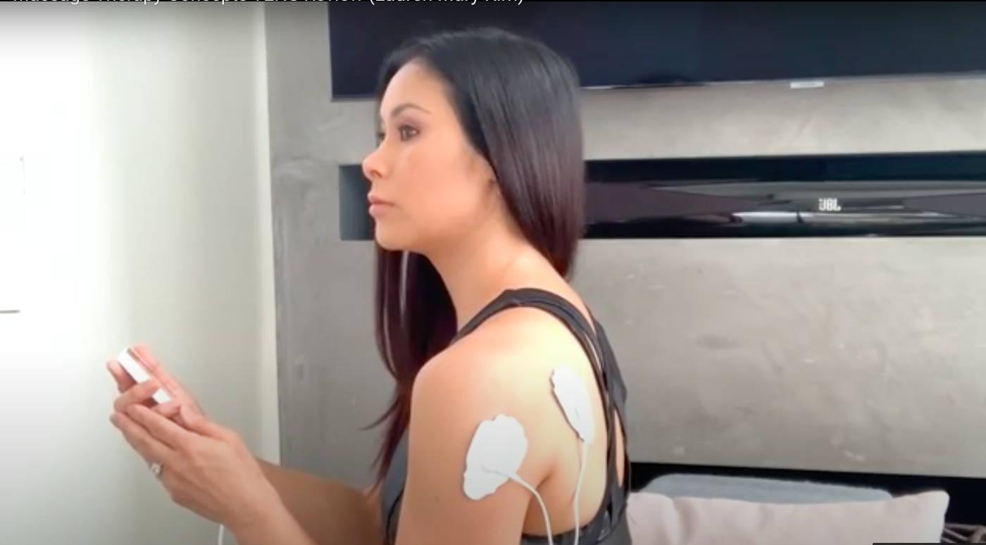 TENS Unit, professional stuntswoman, shoulder pain relief, chronic shoulder pain