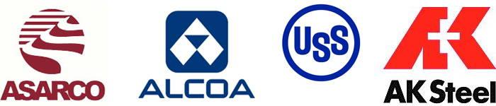 AK Steel, Alcoa, ASARCO, US Steel