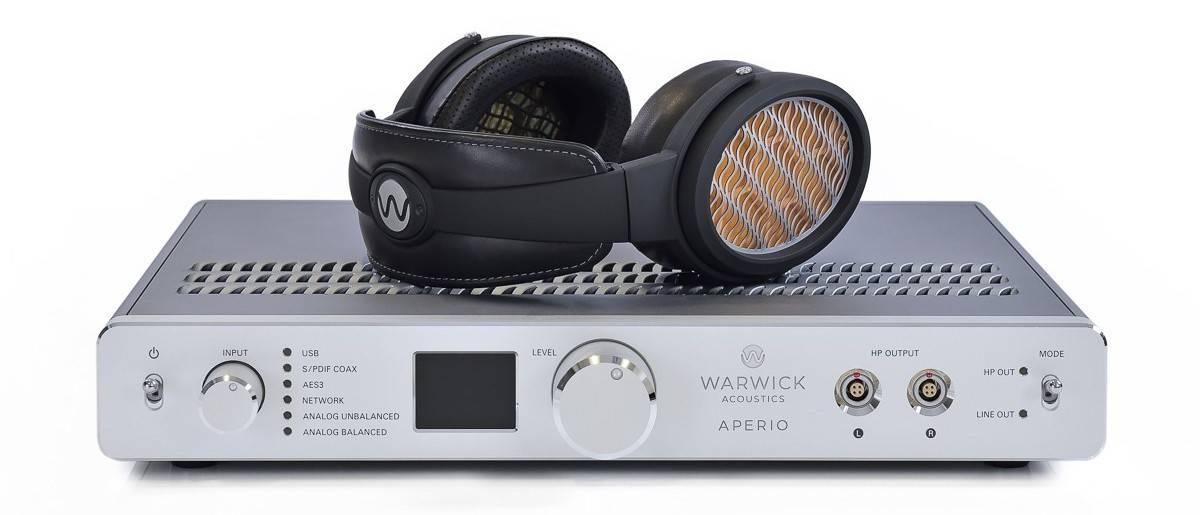 Warwick Acoustics APERIO heapdhone system