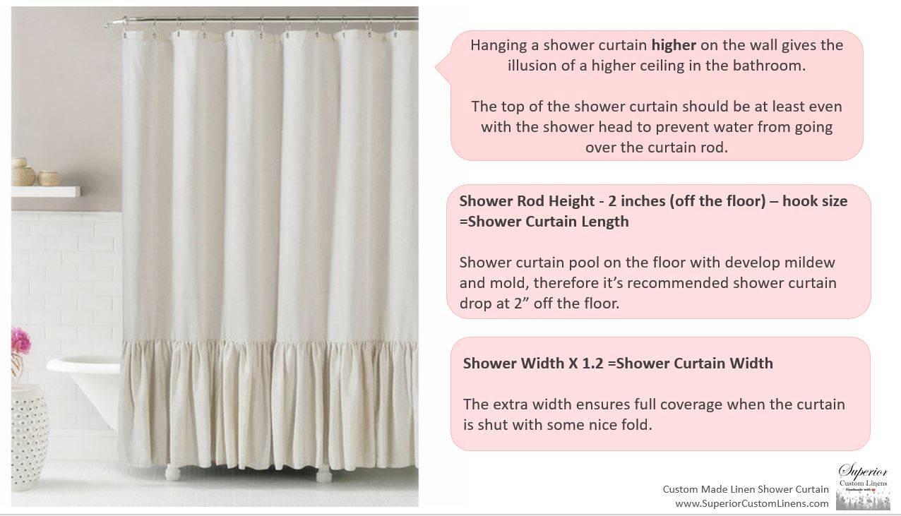 White Bathroom Inspirational Ideas White Shower Curtain