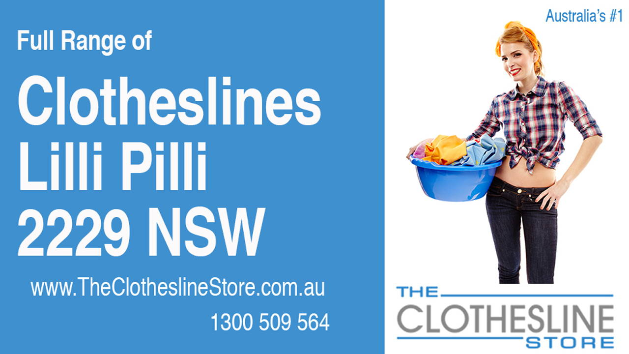 Clotheslines Lilli Pilli 2229 NSW