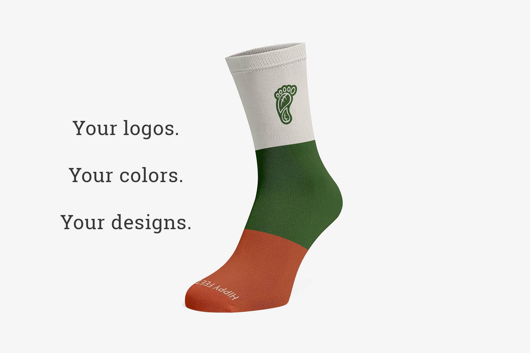 Creating custom socks with Hippy Feet