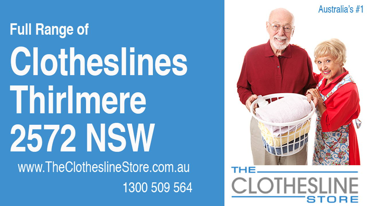 New Clotheslines in Thirlmere 2572 NSW