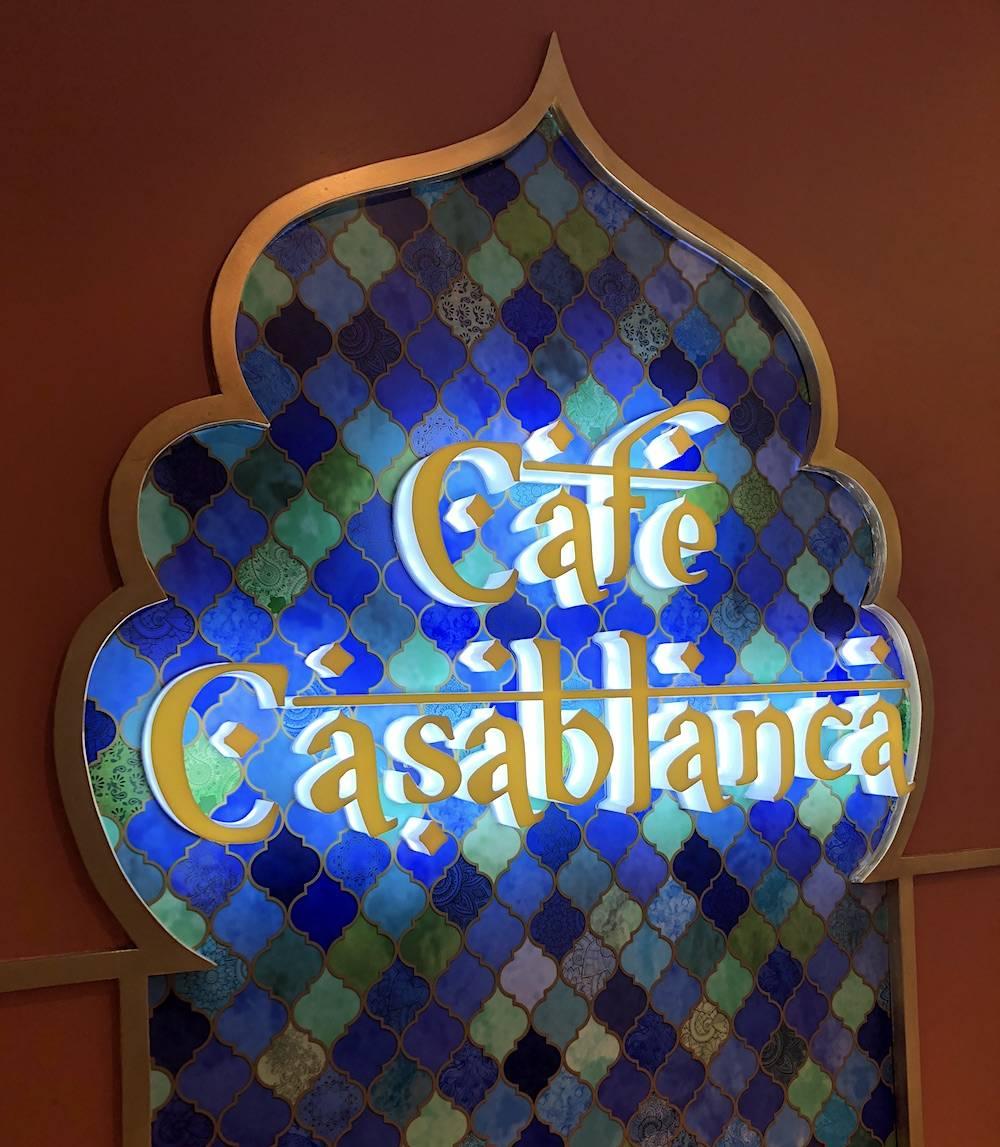 Cafe Casablanca Now Open