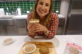 Gluten Free Snickerdoodle Cookie Sandwiches