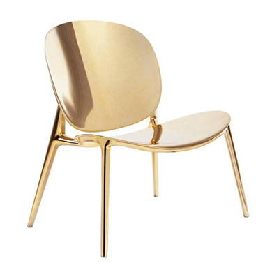 Modern Gold Lounge Chairs