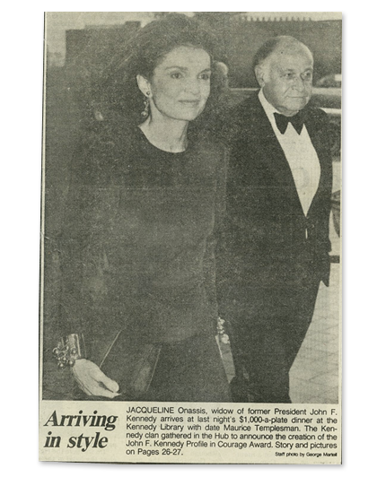 First Lady Jacqueline Kennedy – Ben-Amun