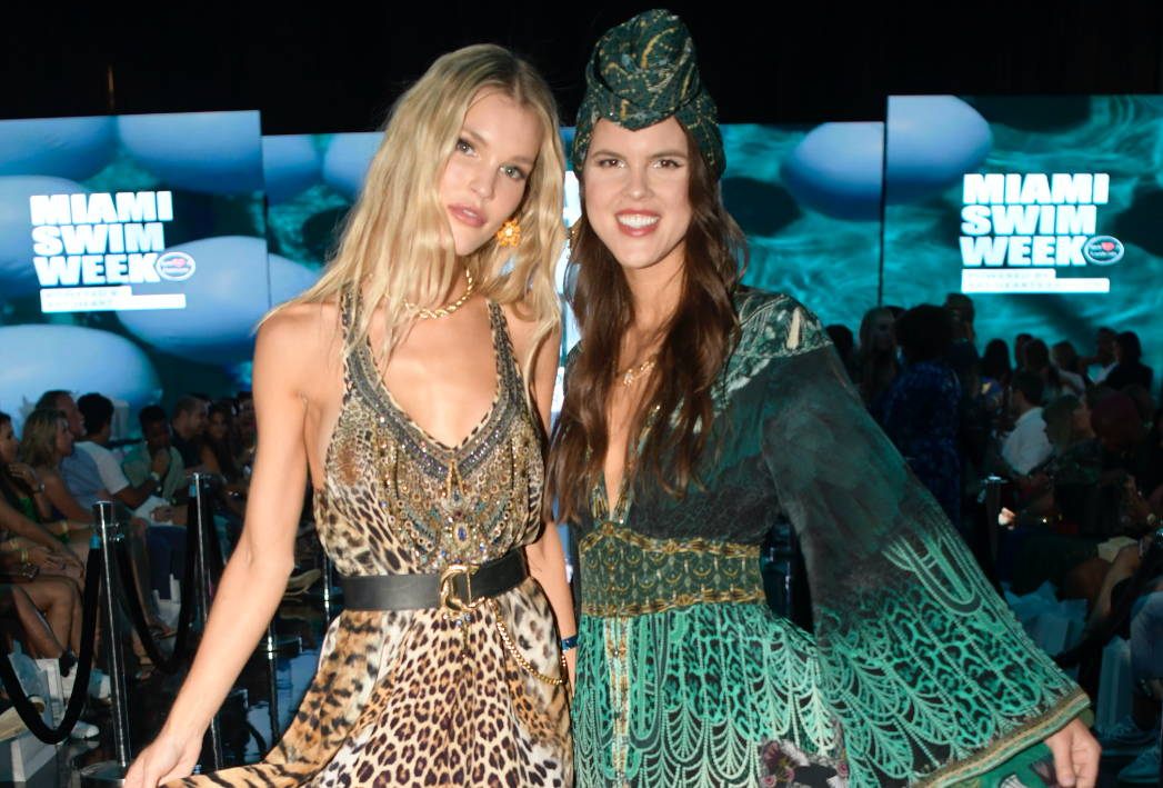 CAMILLA Green Dress, CAMILLA Leopard Dress