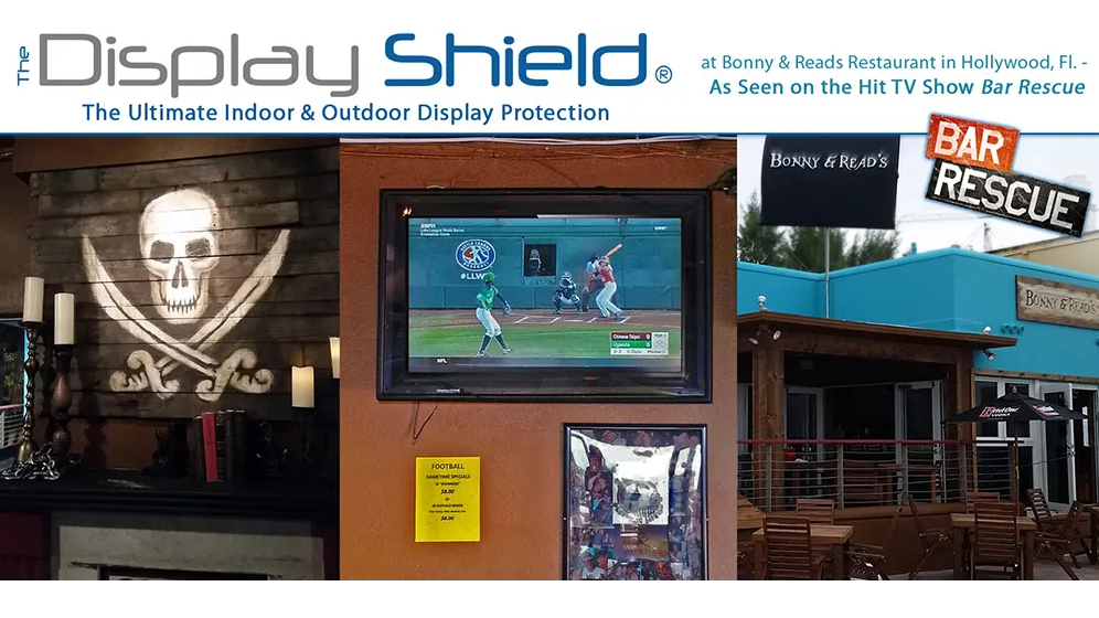 The Display Shield® on the Bar Rescue TV Show