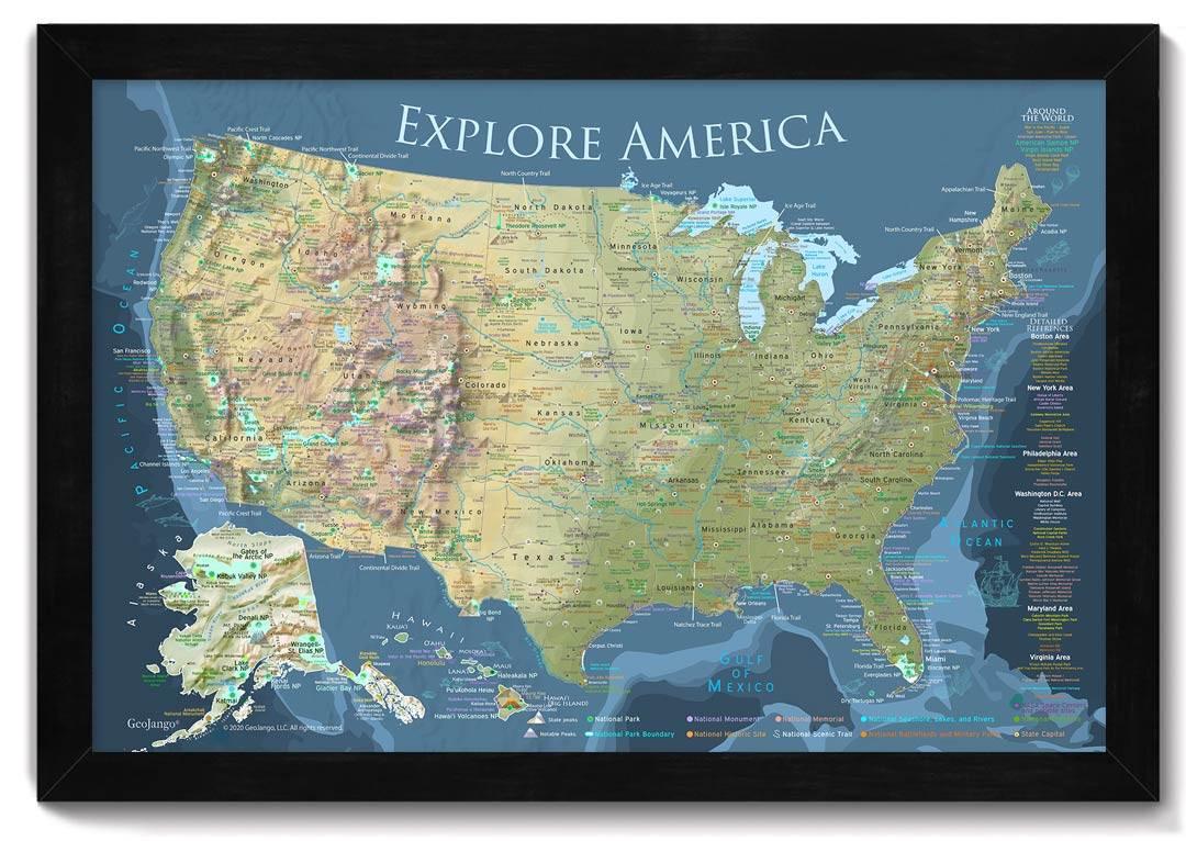 geojango voyager usa map