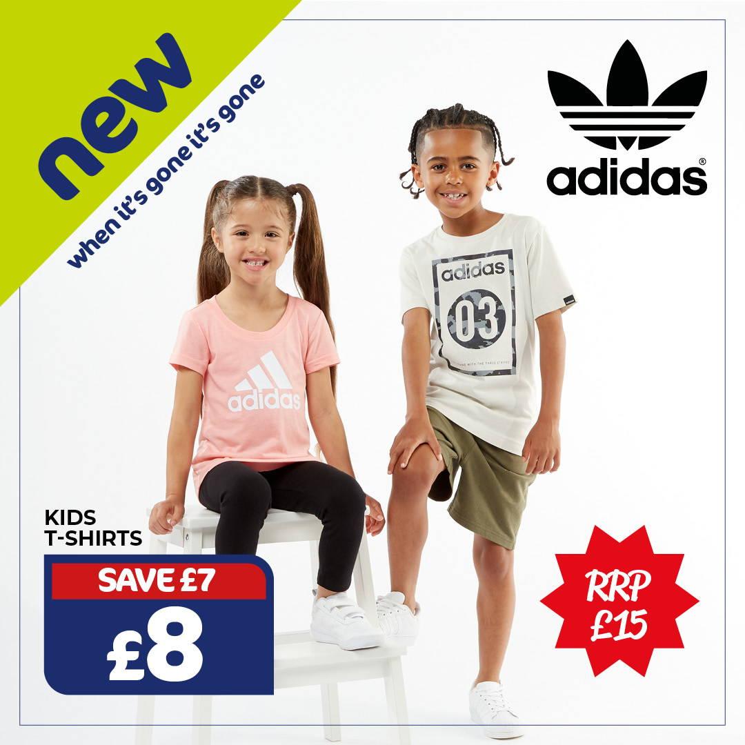 Adidas kids t-shirts