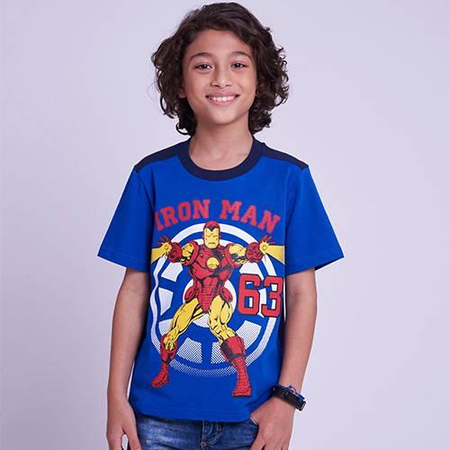 เสื้อเด็กชายลายไอรอนแมน เสื้อมาร์เวล