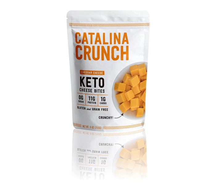 Catalina Crunch Cheddar Cheese Bites