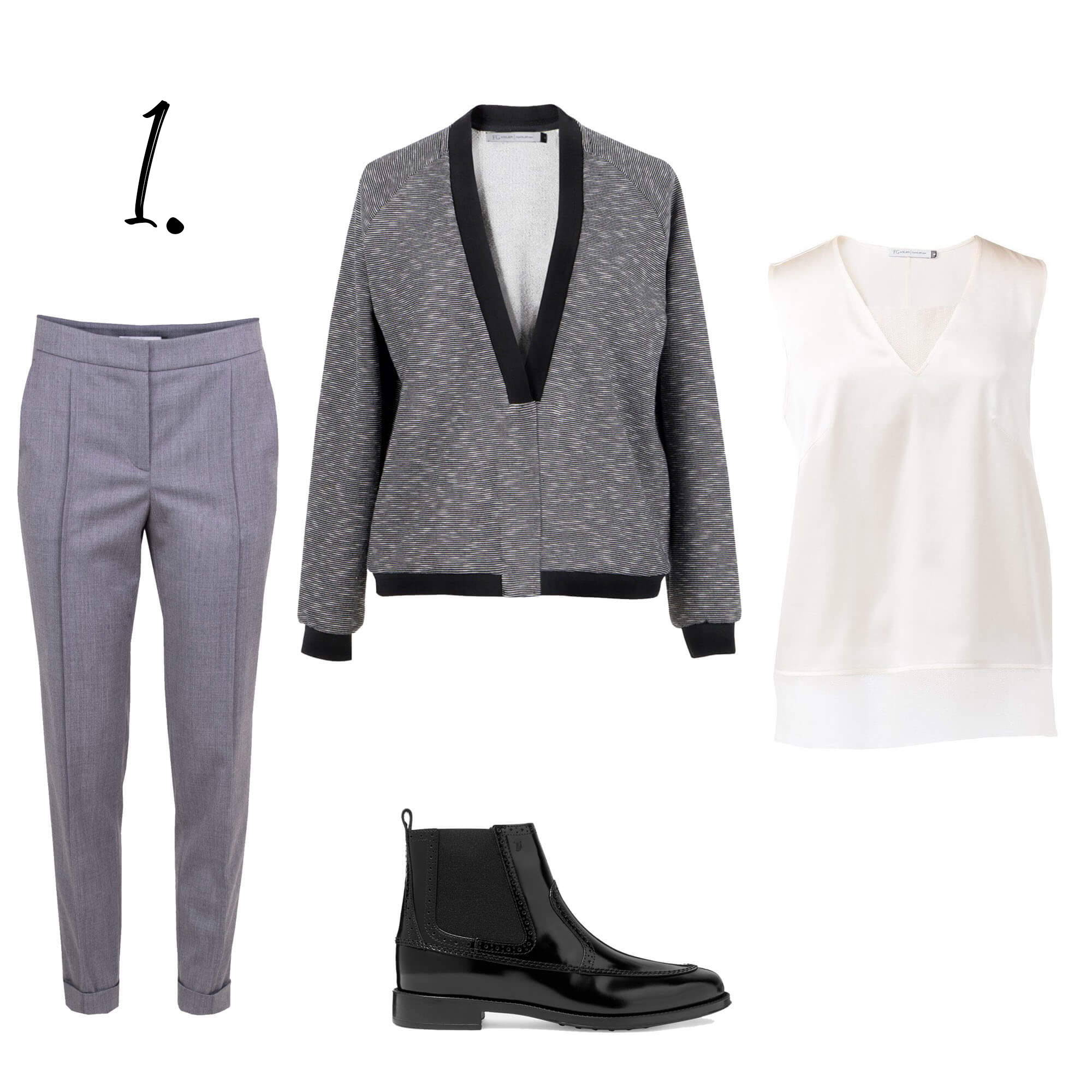 Jersey Blazer outfit