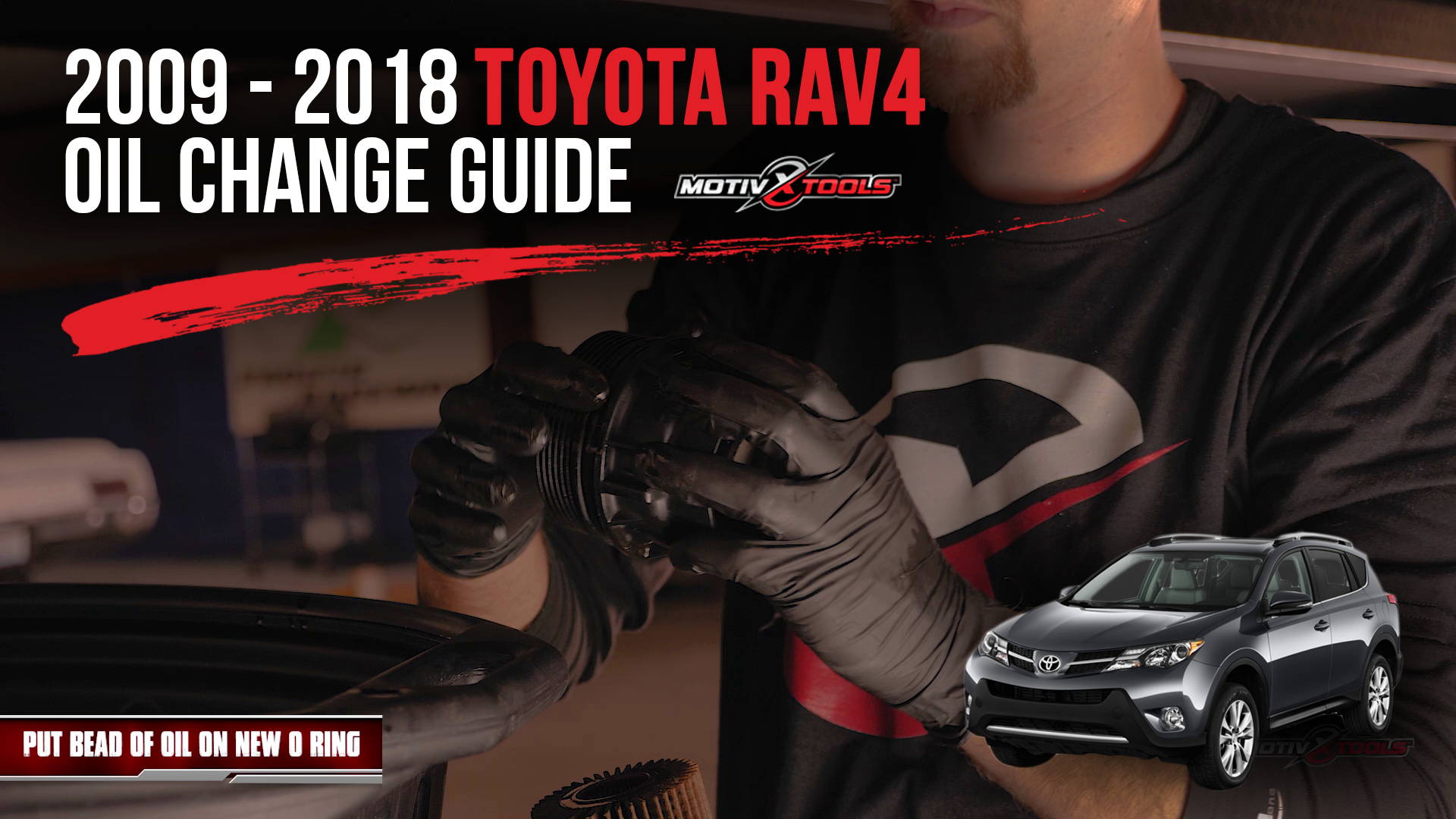 2009-2018 Toyota RAV4 Oil Change Guide - Motivx Tools