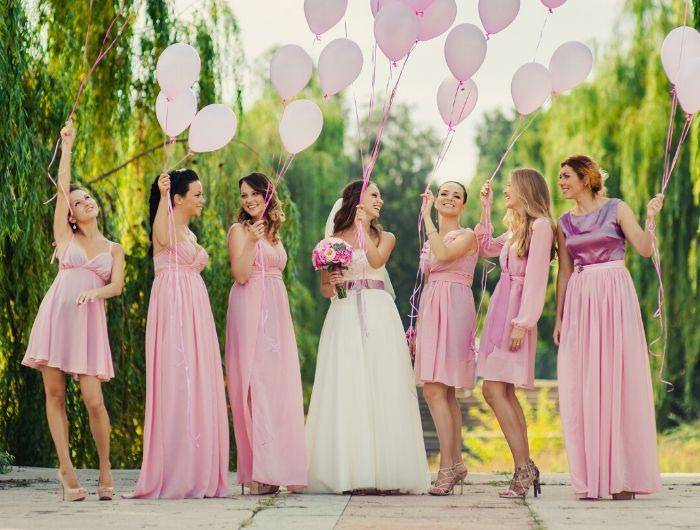Match Bridesmaid Dress Colors