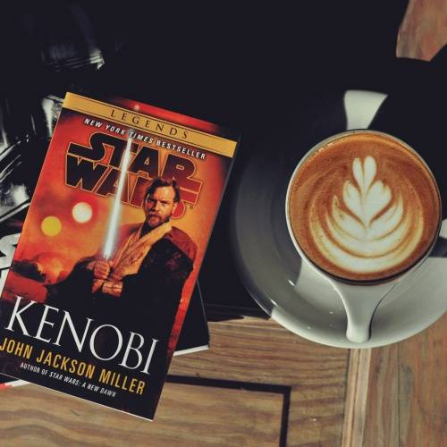 Star Wars Book and Coffee