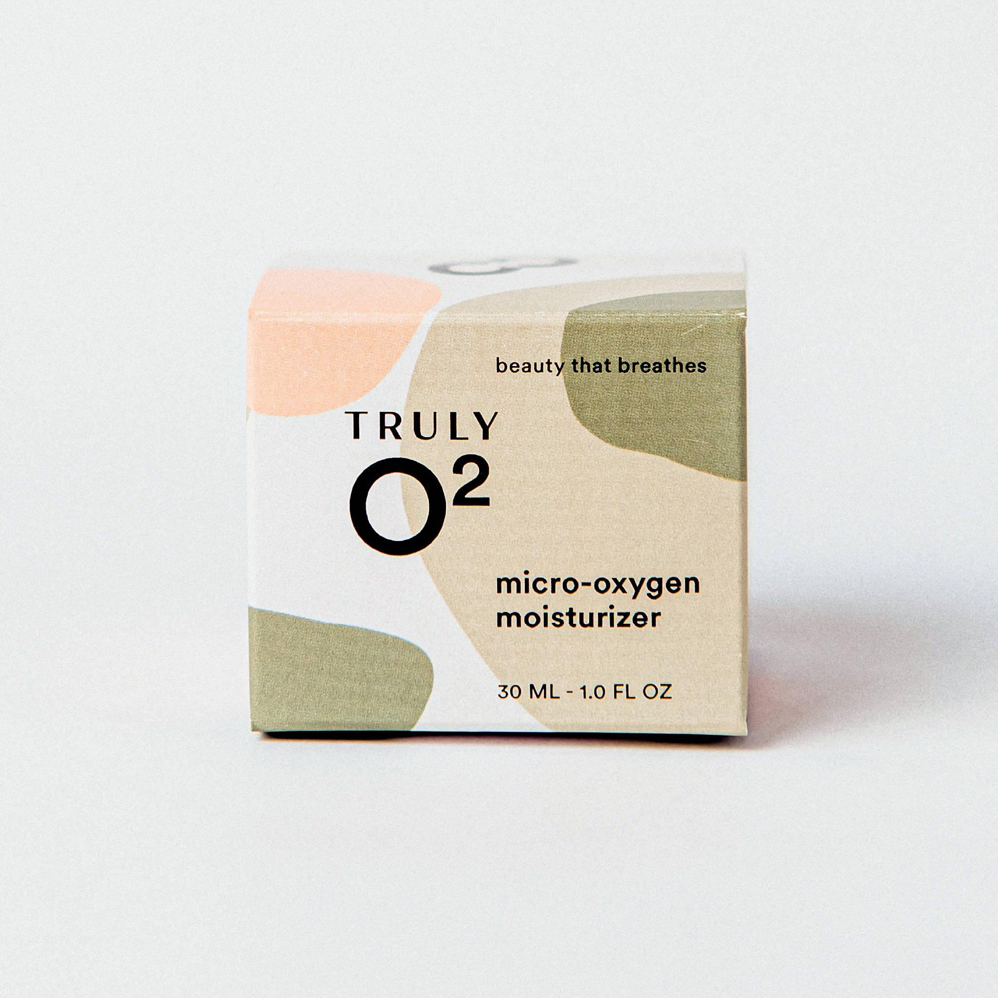 Truly O2 micro-oxygen moisturizer 1oz face cream box