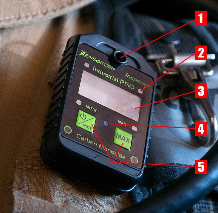 fire rescue carbon monoxide poisoning levels safety