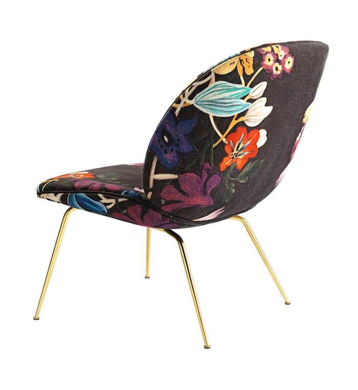GUBI Print Lounge Chair