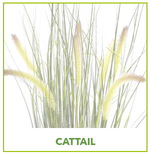 ARTIFICIAL CATTAIL PLANTS