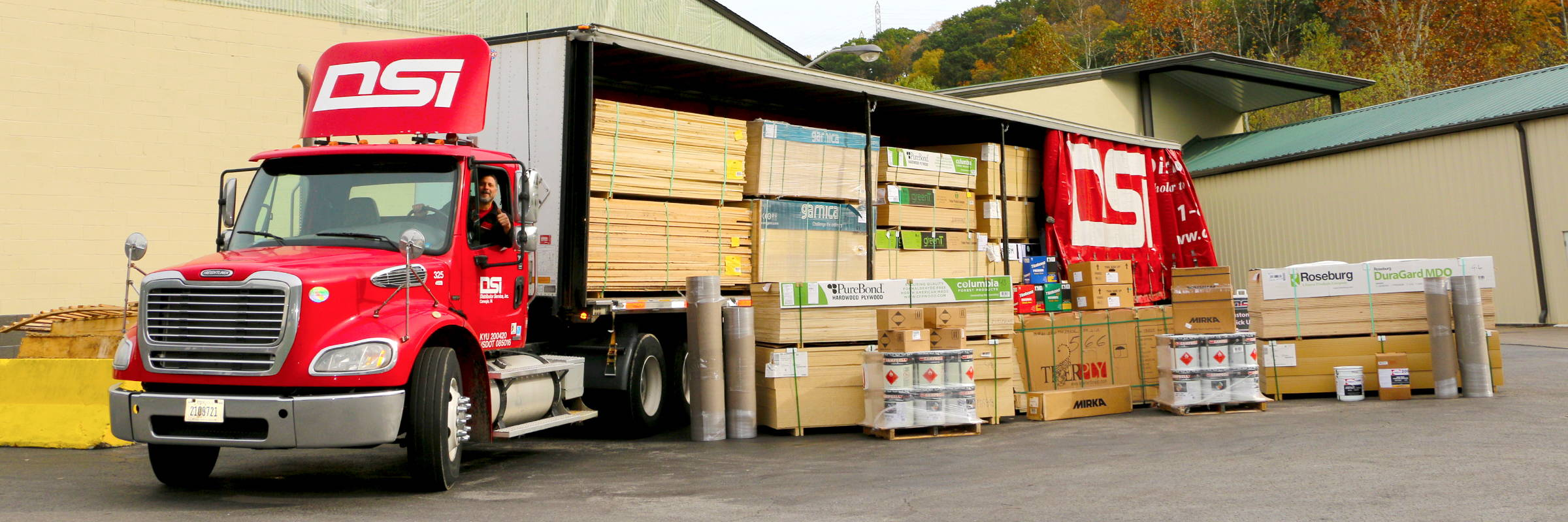 DSI Delivers Woodworking Supplies to Customer Shops