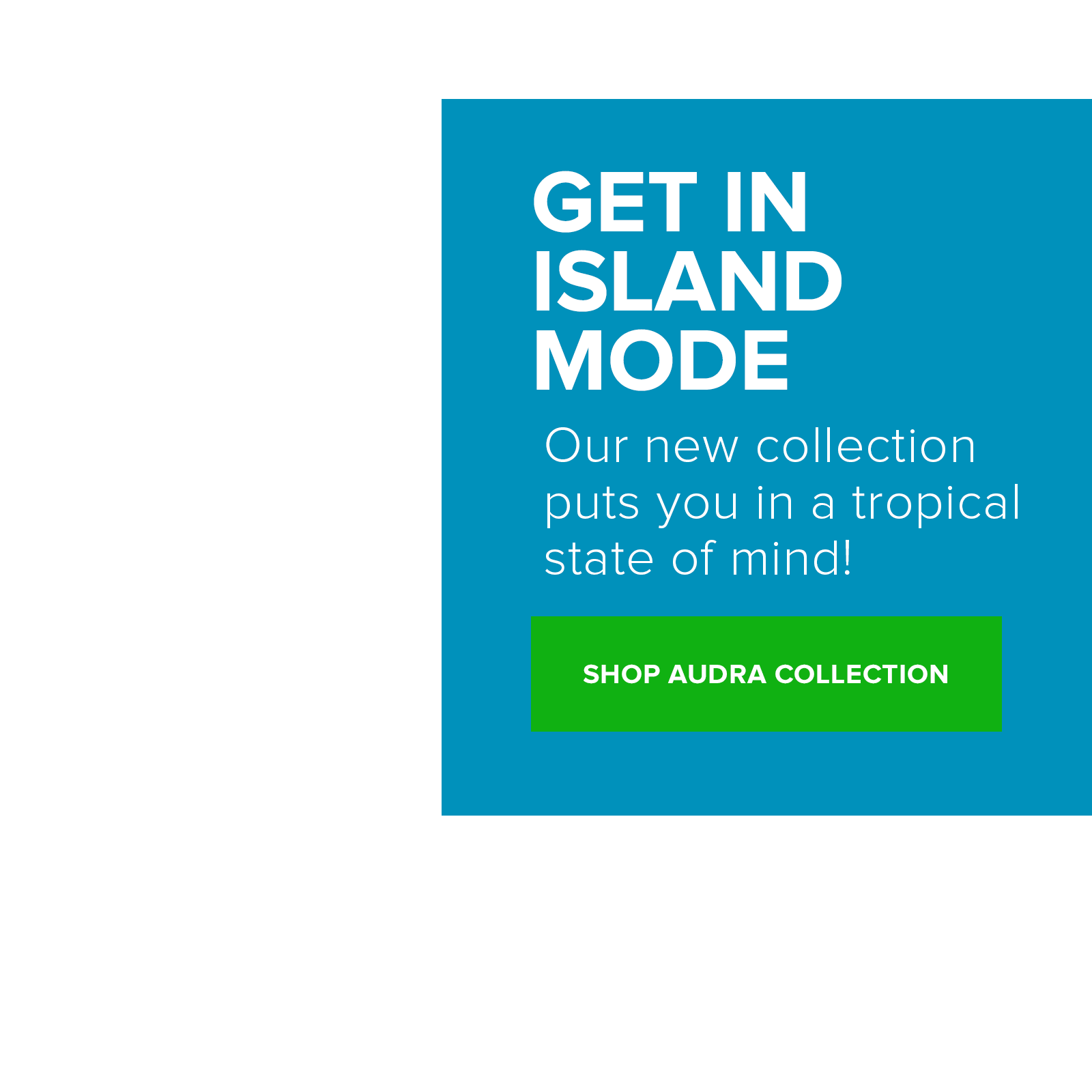 Shop the new apparel Audra Collection