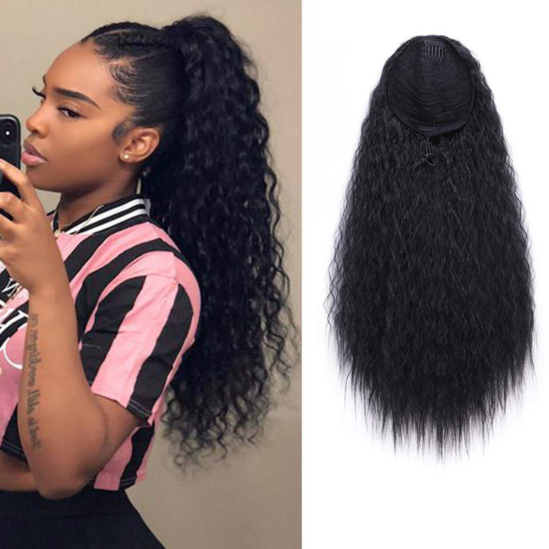 Curly Clip-in Ponytails Extensions