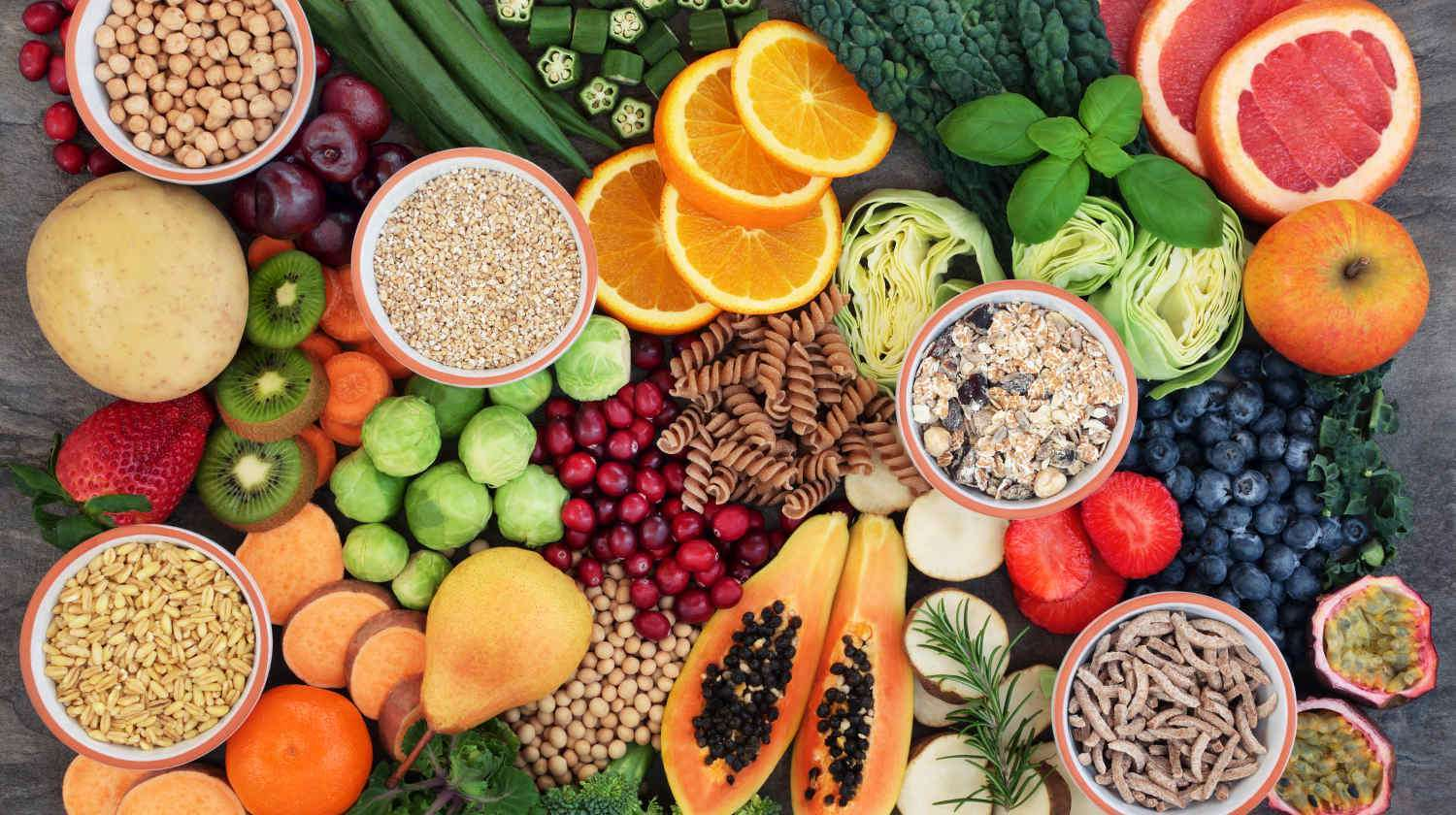 Health food concept for a high fiber diet with fruit | Surprising Differences of Whole Food Vitamins Vs. Synthetic Vitamins | difference between vitamins and minerals | Featured