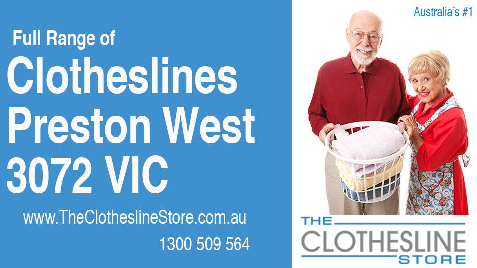 New Clotheslines in Preston West Victoria 3072