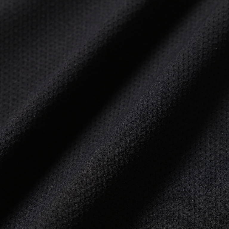 andwander(アンドワンダー)/ハイブリッドベースレイヤーロングスリーブT/ブラック/UNISEX