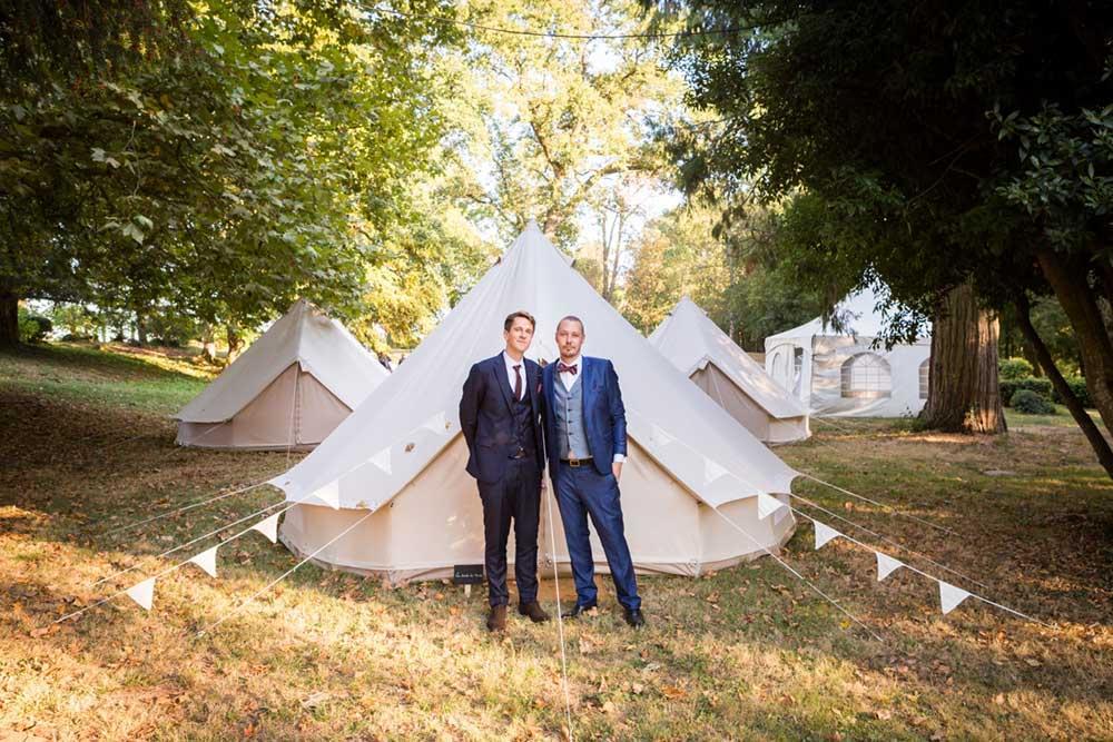 location de tentes pour invités