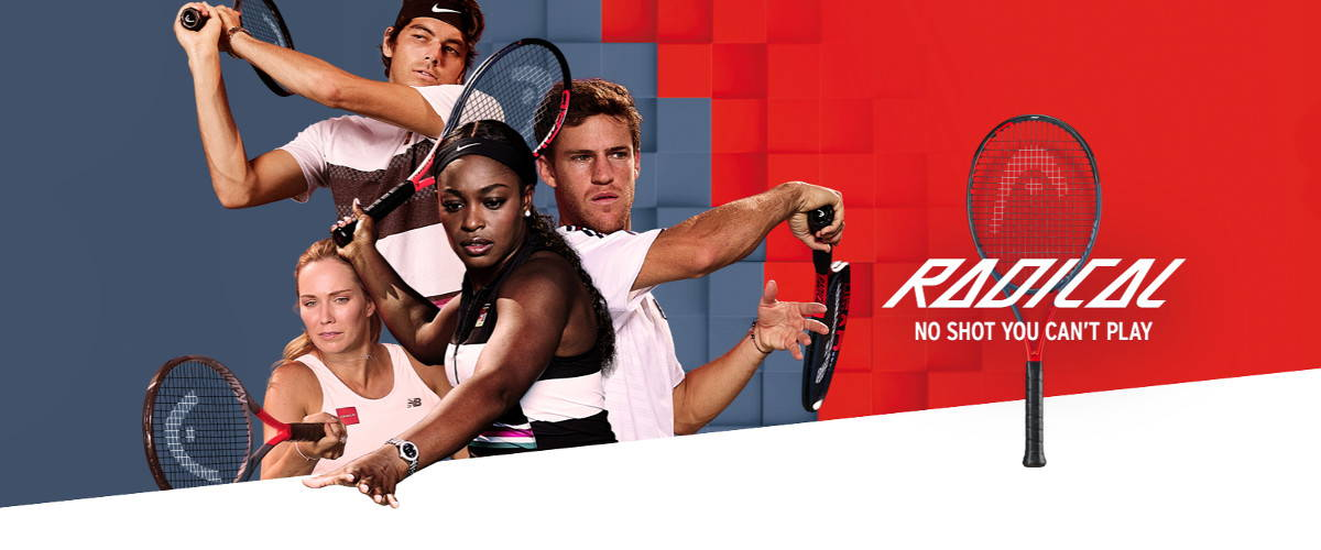Head Graphene Touch Radical Tennis Banner