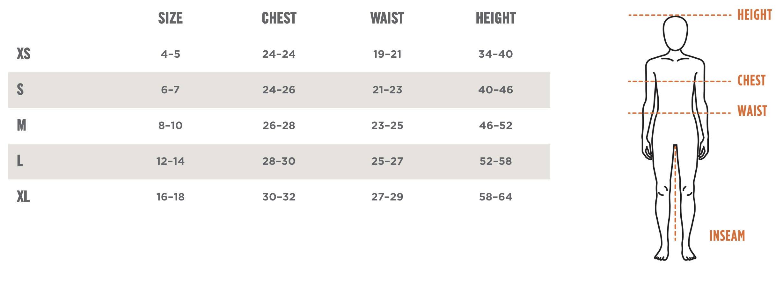 Kerrits size chart breeches size guide
