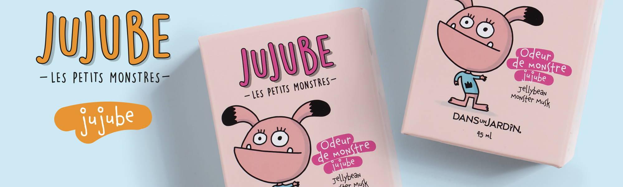 Image de la gamme Jujube de la collection Jujube les petits monstres Dans un Jardin