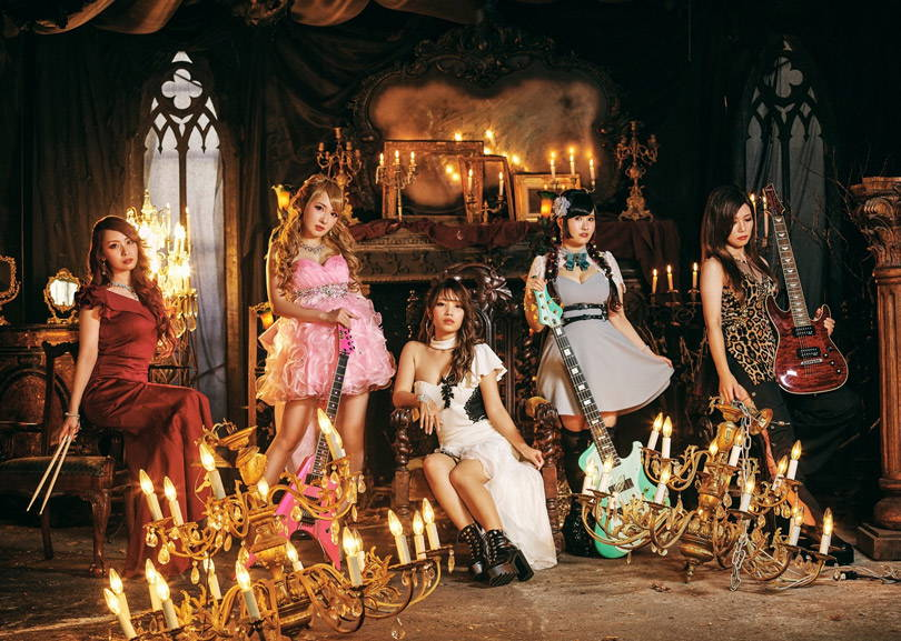 Aldious Japanese metal girl band JPU Records