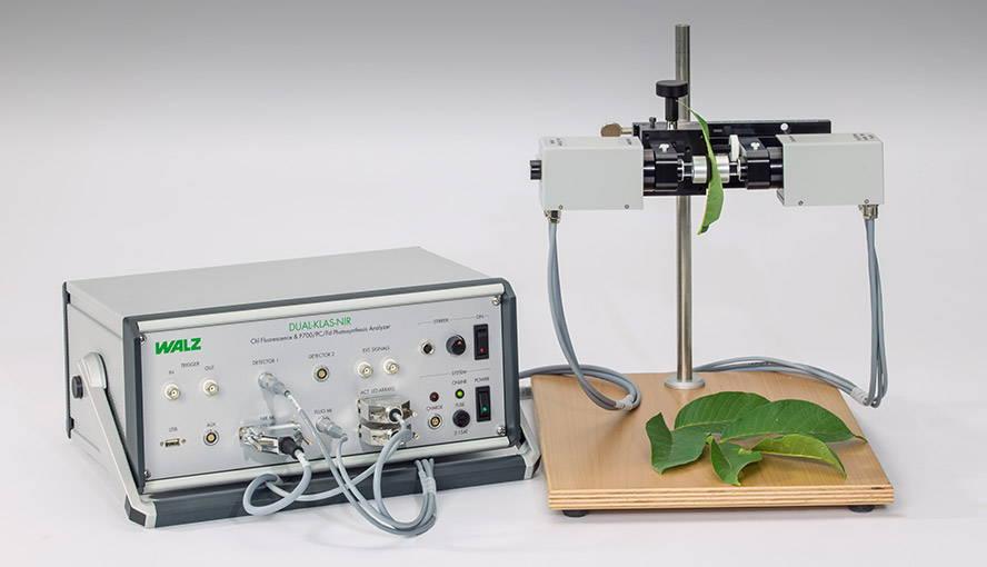 New DUAL-KLAS-NIR  -  P700, Plastocyanin, Ferredoxin & Chlorophyll Fluorescence Measuring System