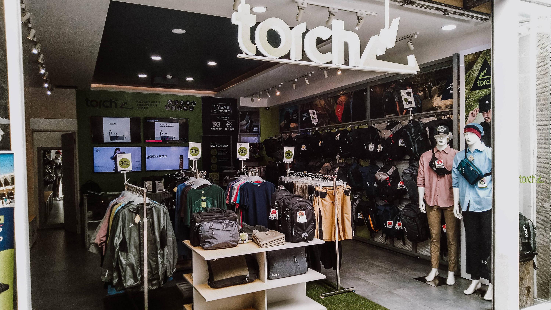 Torch Store  Offline di Ciwalk, Bandung.