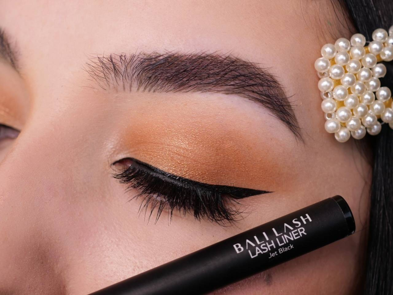 ashley kayla makeup bali lash adhesive eyeliner