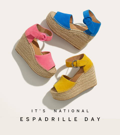 National Espadrille Day