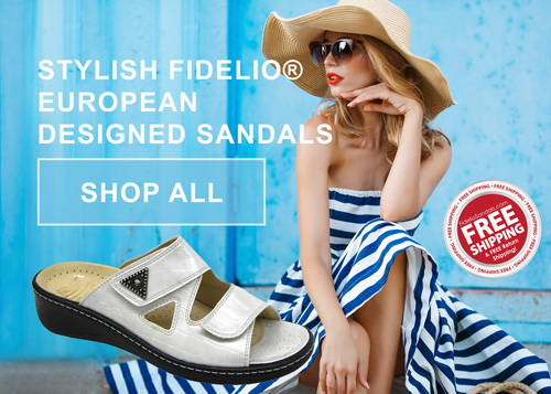 Fidelio Comfort Sandals For Bunions