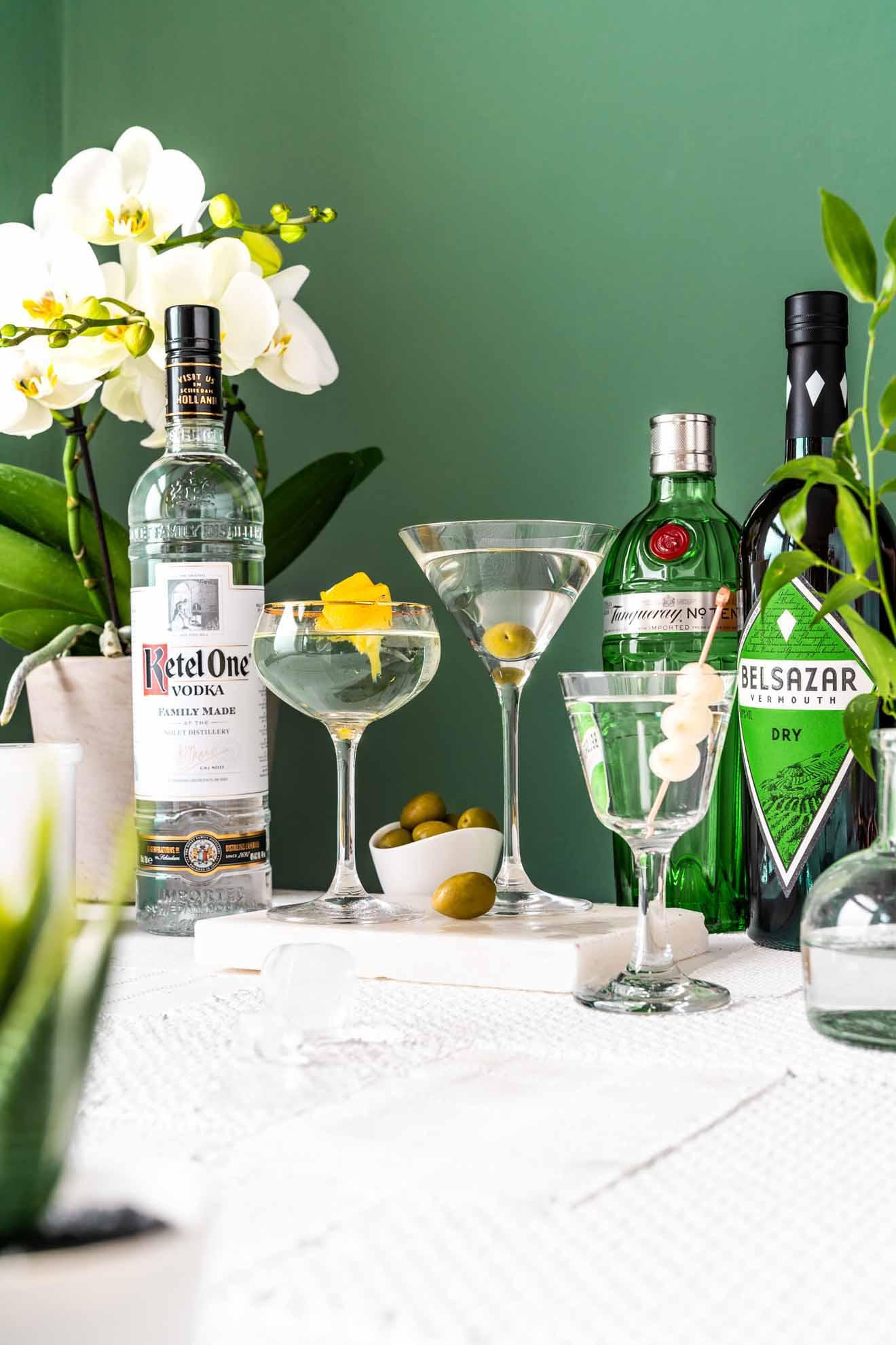 Richtig martini servieren bianco Martini