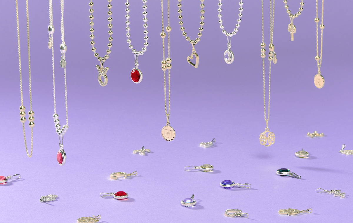 personlized clip on charms for jewelry