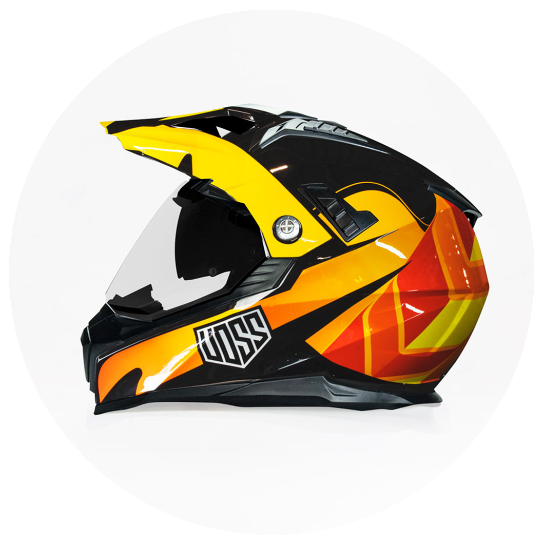 Dual Sport and Dirt Bike Helmets