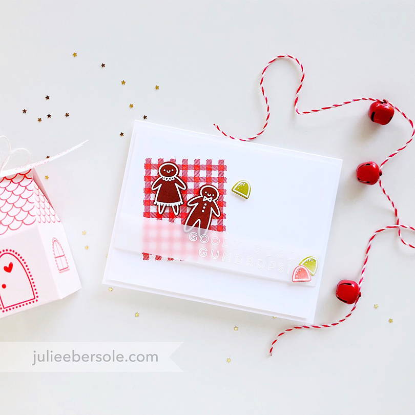 Essentials by Ellen Ginger House card by Julie Ebersole