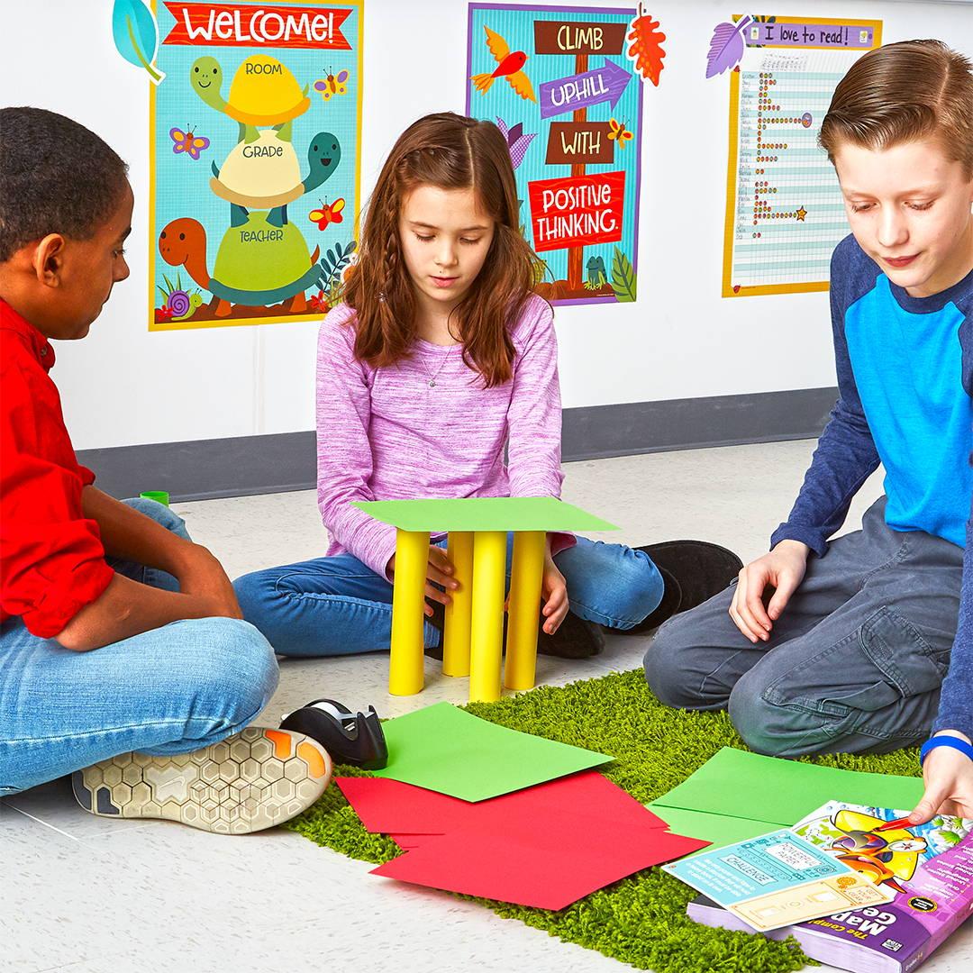 Children with STEM Challenge