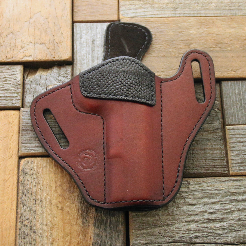 Custom Leather Handgun Holsters