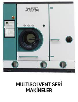 Multisolvent seri makineler