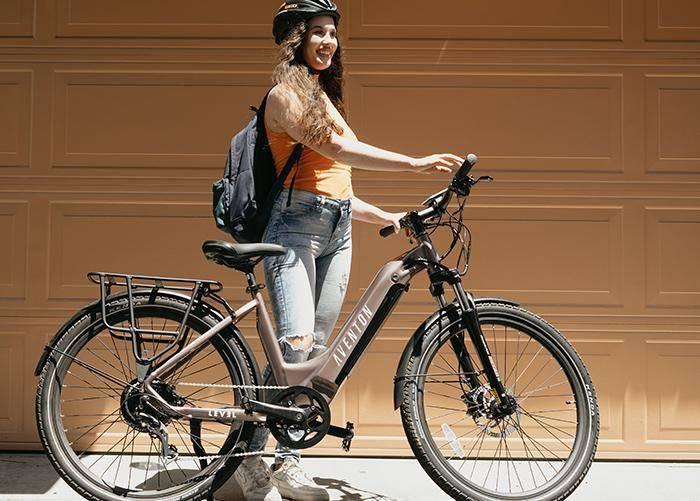 Level Step-Through Commuter Ebike - Aventon Bikes